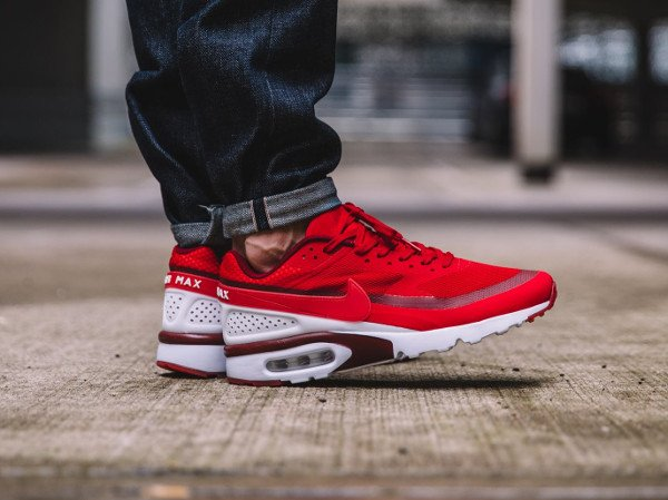 acheter Nike Air Max BW Ultra Hyperfuse University Red pas cher (2)