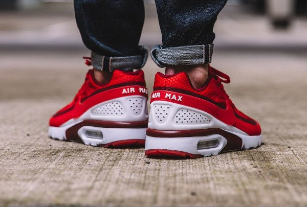 acheter Nike Air Max BW Ultra Hyperfuse University Red pas cher (3)