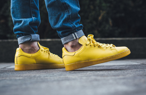 adidas stan smith jaune