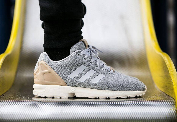 adidas zx flux fleece solid grey pale nude. Black Bedroom Furniture Sets. Home Design Ideas
