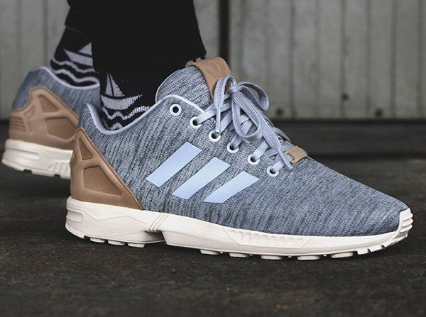 regarder 1c9ad 59ebb Adidas ZX Flux Fleece Solid Grey Pale Nude