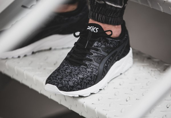 basket Asics Gel Kayano Trainer Evo Print Black Origami (2)