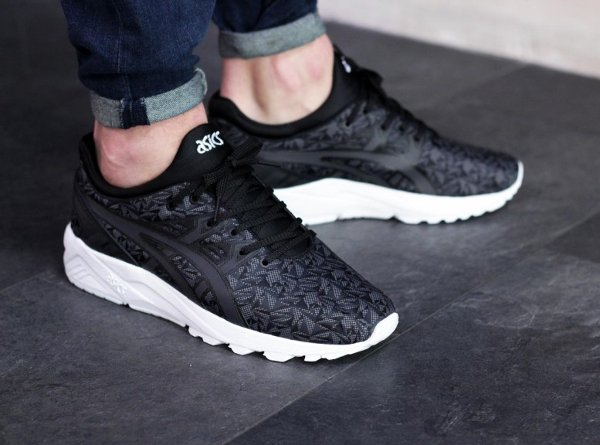 basket Asics Gel Kayano Trainer Evo Print Black Origami (4)