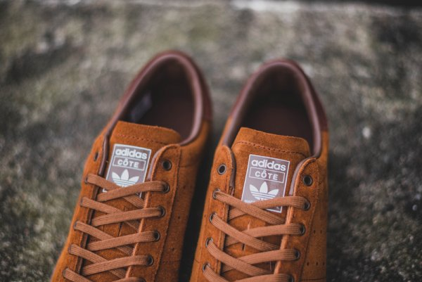 chaussure Adidas Originals Côte Beach SPZL Simple Brown (4)