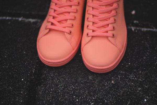 chaussure Adidas Stan Smith Adicolor Sun Glow (5)