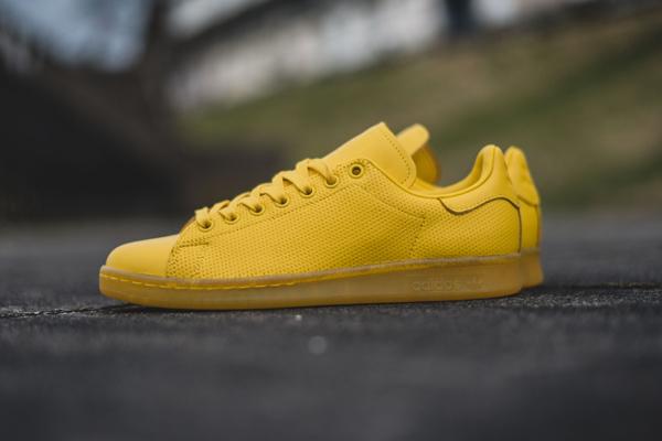 adidas jaune stan smith