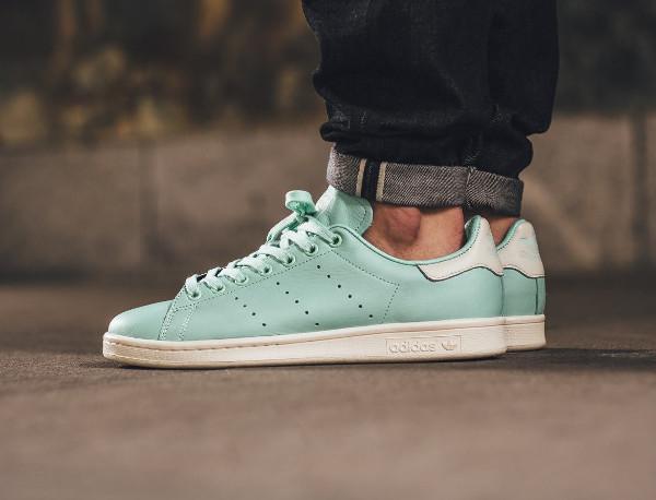 chaussure Adidas Stan Smith Frozen Green (vert menthe) (7)