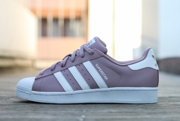 adidas superstar blanch purple