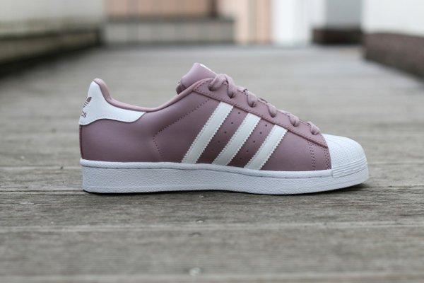 Adidas Superstar Violette Et Blanche