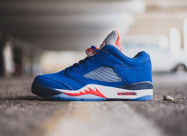 chaussure Air Jordan 5 Retro Low Knicks ou Cavs (1)