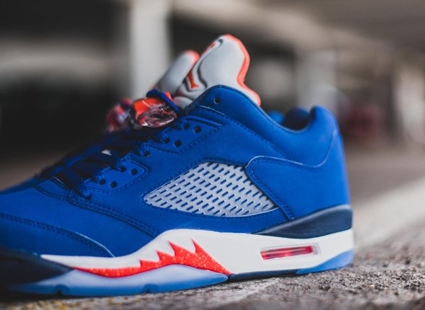 chaussure Air Jordan 5 Retro Low Knicks ou Cavs (6)