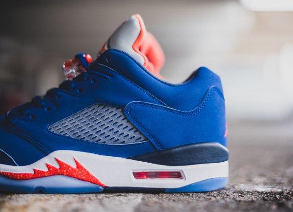 chaussure Air Jordan 5 Retro Low Knicks ou Cavs (7)