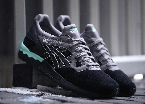 chaussure asics gel lyte 5 noir
