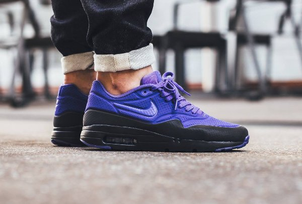 chaussure Nike Air Max 1 Ultra Moire BW OG Black Persian Violet pas cher (1)