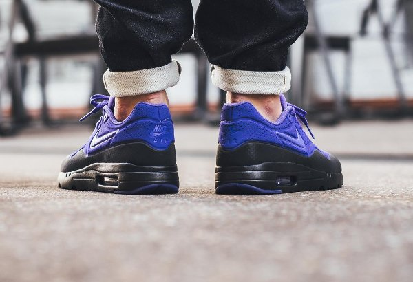 chaussure Nike Air Max 1 Ultra Moire BW OG Black Persian Violet pas cher (3)