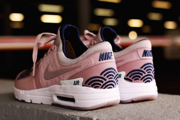 chaussure Nike Air Max Zero LOTC Tokyo rose écailles de poisson (4)