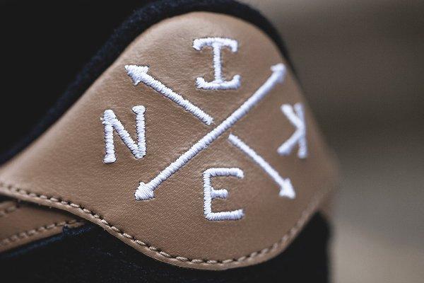 chaussure Nike Cortez Basic Premium Baseball Black Desert Camo quickstrike (2)