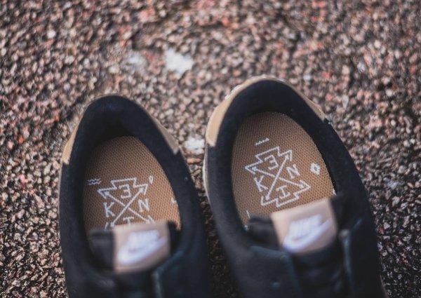 chaussure Nike Cortez Basic Premium Baseball Black Desert Camo quickstrike (4)