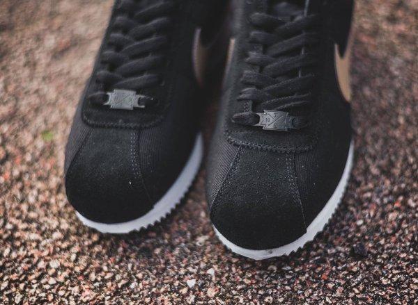 chaussure Nike Cortez Basic Premium Baseball Black Desert Camo quickstrike (6)