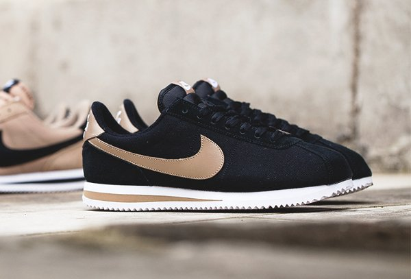 chaussure Nike Cortez Basic Premium Baseball Black Desert Camo quickstrike (8)