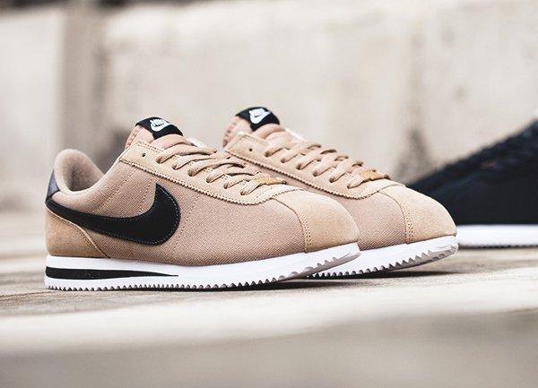chaussure Nike Cortez Basic Premium Baseball Desert Camo quickstrike (1-1)