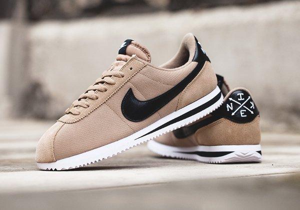 chaussure Nike Cortez Basic Premium Baseball Desert Camo quickstrike (1)