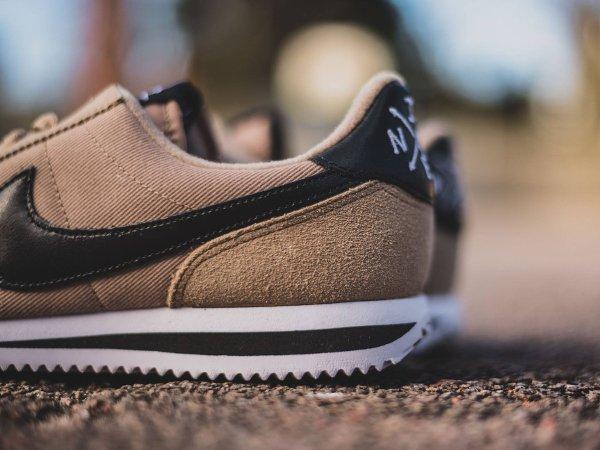 chaussure Nike Cortez Basic Premium Baseball Desert Camo quickstrike (7)