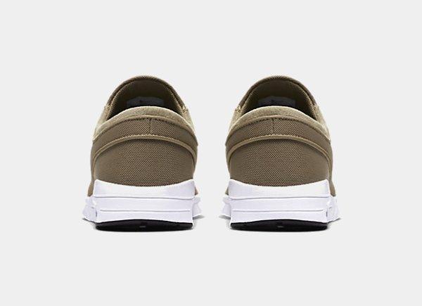chaussure Nike SB Janoski Max Khaki homme (2)