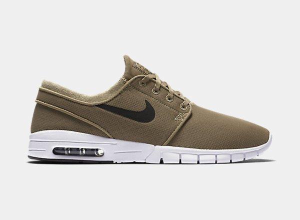 chaussure Nike SB Janoski Max Khaki homme (3)
