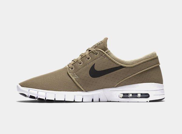 chaussure Nike SB Janoski Max Khaki homme (5)