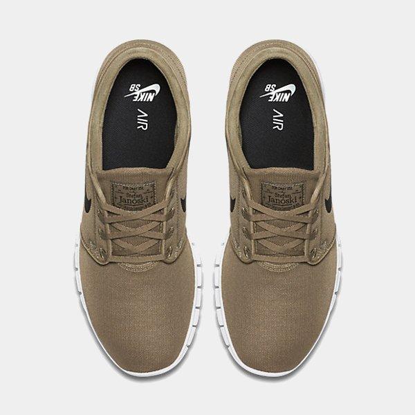 chaussure Nike SB Janoski Max Khaki homme (6)