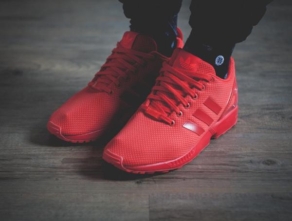 Rouge Adidas Zx October Triple Red Flux lFcK1TJ