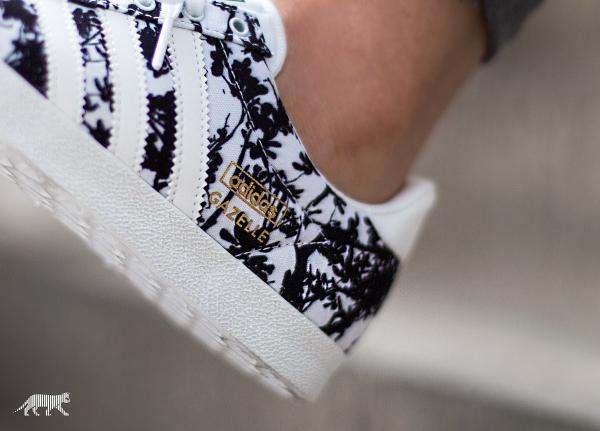 adidas gazelle fleurs