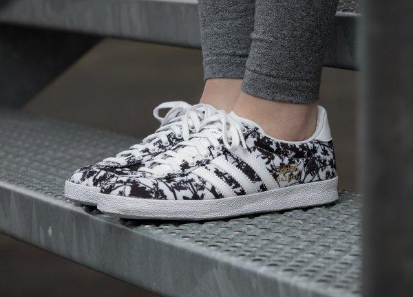 Adidas Originals Gazelle OG White & Core Black (2)