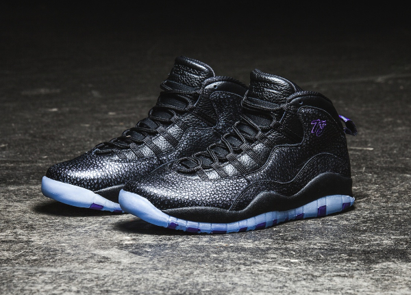 Air Jordan 10 Retro Paris 75 Black Purple (City Pack 2016) (2)