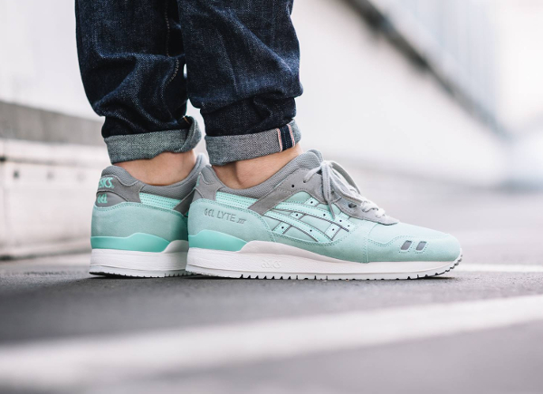 Asics Gel Lyte 3 Suede Two Tone Tiffany (1)