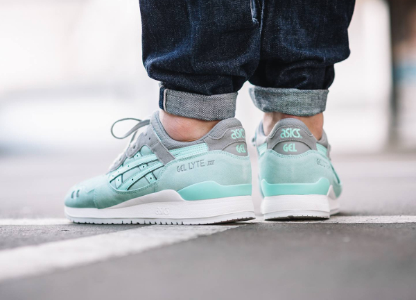 Asics Gel Lyte 3 Suede Two Tone Tiffany (2)
