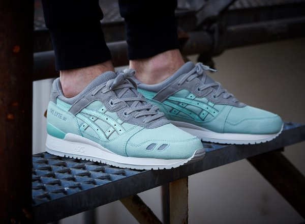 Asics Gel Lyte 3 Suede Two Tone Tiffany (4)