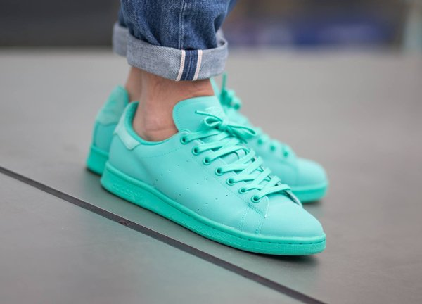 Basket Adidas Stan Smith Adicolor Reflective Shock Mint pas cher