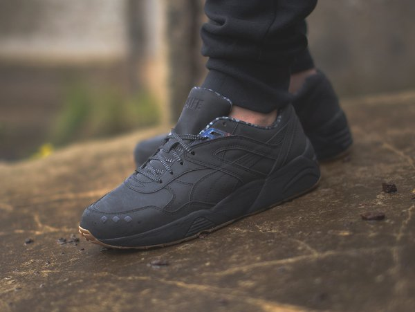 Basket Alife NYC x Puma R698 Reflective Black Gum