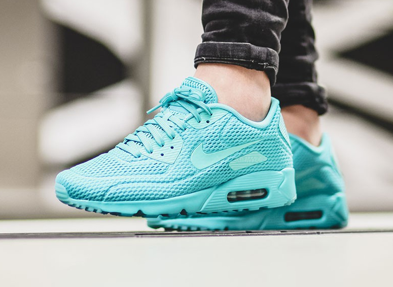 Basket Nike Air Max 90 Ultra Breathe Hyper Jade (1)
