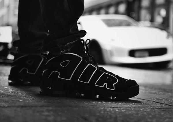 Nike Air More Uptempo OG Black Scottie Pippen 2016