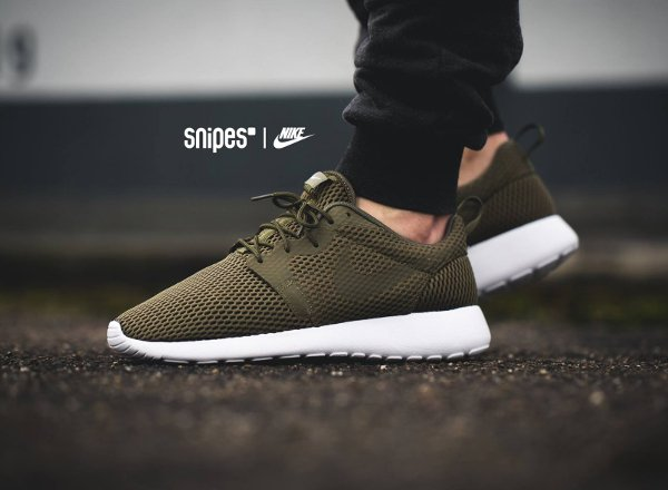 Basket Nike Roshe One Hyper BR Medium Olive (1)