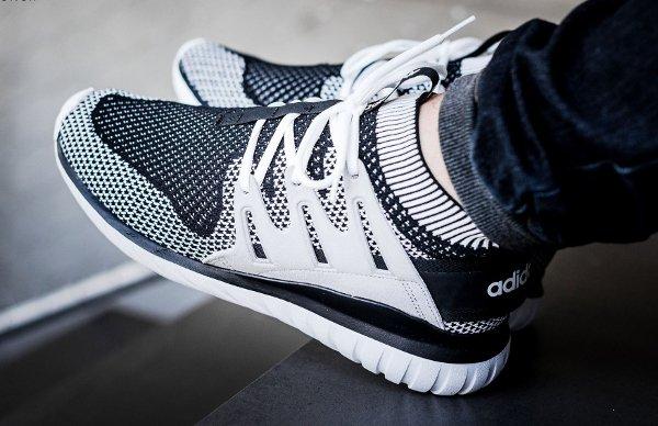 Shadow Nova Primeknit Adidas Runner Black Whiteamp; Tubular wmN80vn