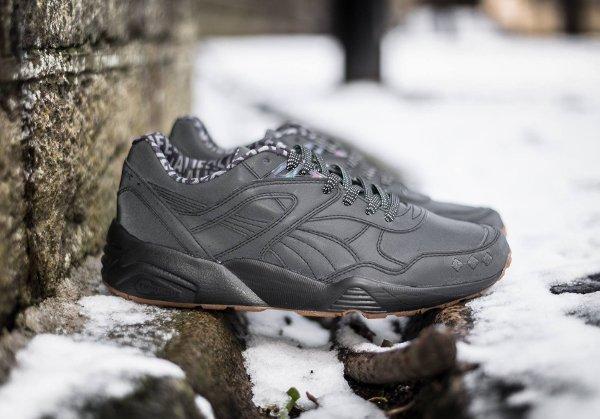 Chaussure Alife NYC x Puma R698 noire réfléchissante (1)