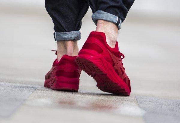 Chaussure Asics Gel Kayano Trainer Evo rouge (3)