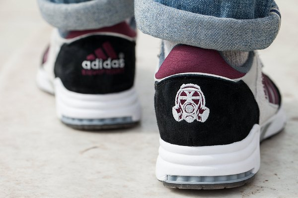Chaussure Footpatrol x Adidas Equipment Running Cushion 93 (1)