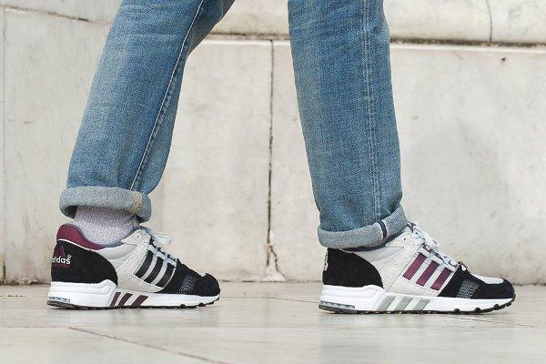 Chaussure Footpatrol x Adidas Equipment Running Cushion 93 (4)