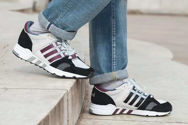 Chaussure Footpatrol x Adidas Equipment Running Cushion 93 (7)