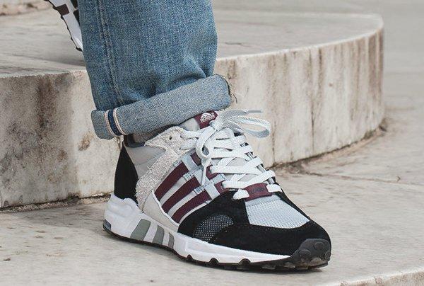 Chaussure Footpatrol x Adidas Equipment Running Cushion 93 (8)